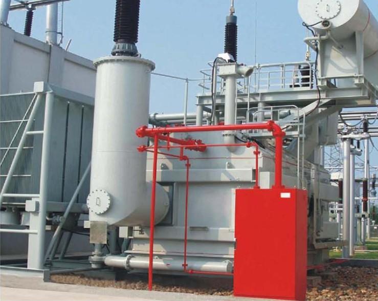 变压器排油充氮灭火装置
